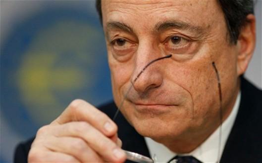 Mario Draghi 最怕就是歐洲通縮