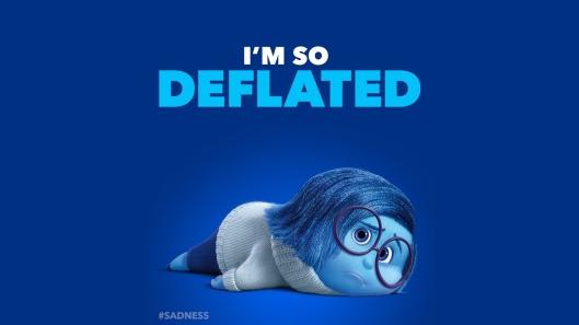 個市跌成咁,I'm so deflated...