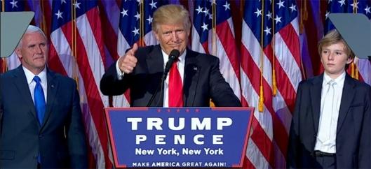 特朗普當選美國總統